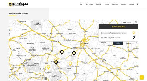 Mapa Zabytków – Dolnośląska Mapa Zabytków Techniki