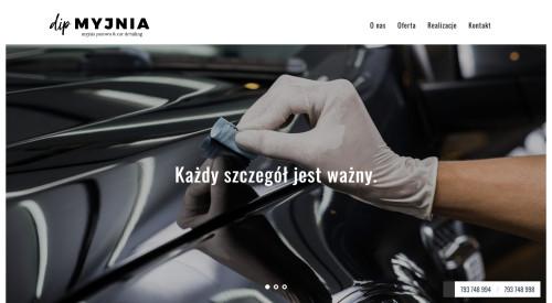 Mobilna myjnia parowa Dip Myjnia Świdnica Żarów Wałbrzych i okolice